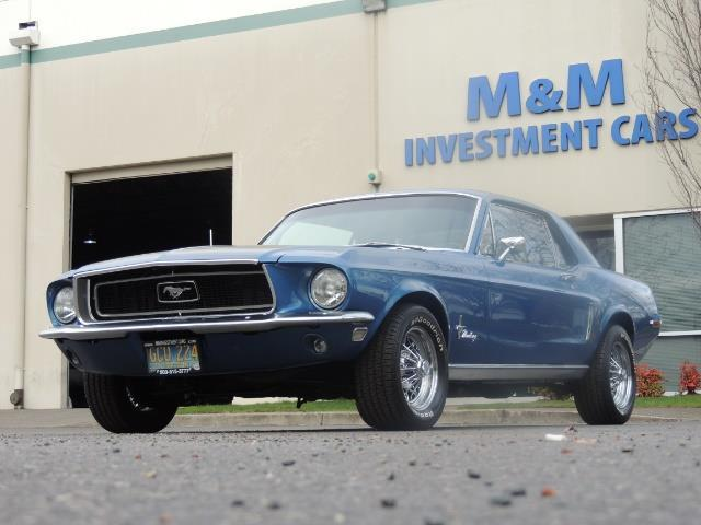 1968 Ford Mustang V8 / Restored / Excel Cond - Photo 33 - Portland, OR 97217