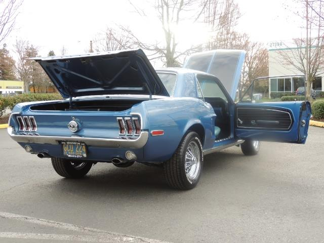 1968 Ford Mustang V8 / Restored / Excel Cond - Photo 29 - Portland, OR 97217