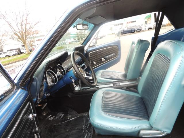 1968 Ford Mustang V8 / Restored / Excel Cond - Photo 14 - Portland, OR 97217