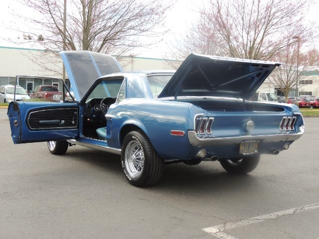 1968 Ford Mustang V8 / Restored / Excel Cond - Photo 31 - Portland, OR 97217
