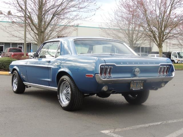 1968 Ford Mustang V8 / Restored / Excel Cond - Photo 8 - Portland, OR 97217