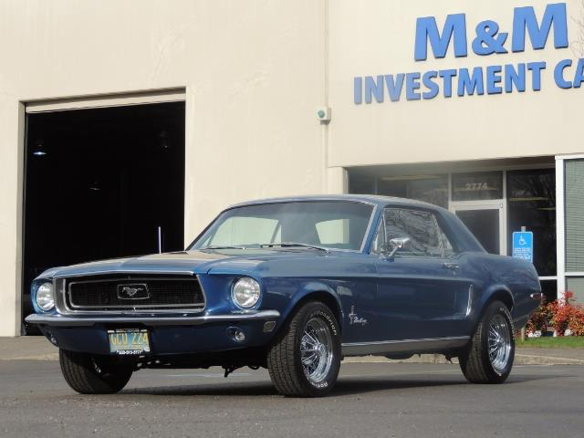 1968 Ford Mustang V8 / Restored / Excel Cond - Photo 42 - Portland, OR 97217
