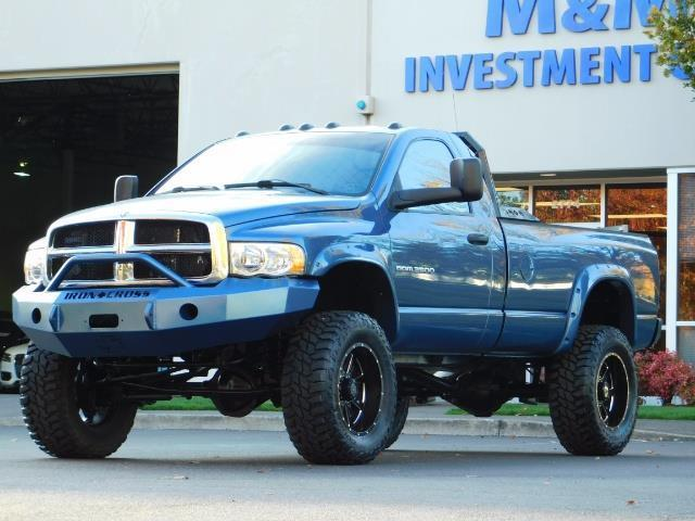 2004 Dodge Ram 2500 4X4 Long Bed / 5.9 L H.O DIESEL / 6-SPEED / LIFTED - Photo 37 - Portland, OR 97217