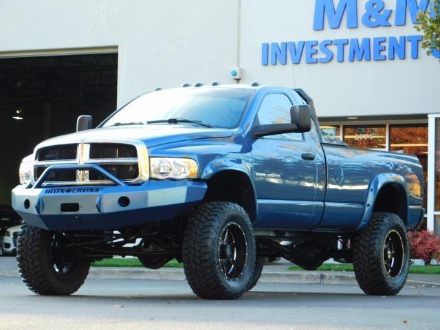2004 Dodge Ram 2500 4X4 Long Bed / 5.9 L H.O DIESEL / 6-SPEED / LIFTED - Photo 1 - Portland, OR 97217