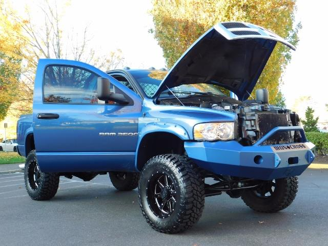 2004 Dodge Ram 2500 4X4 Long Bed / 5.9 L H.O DIESEL / 6-SPEED / LIFTED - Photo 29 - Portland, OR 97217