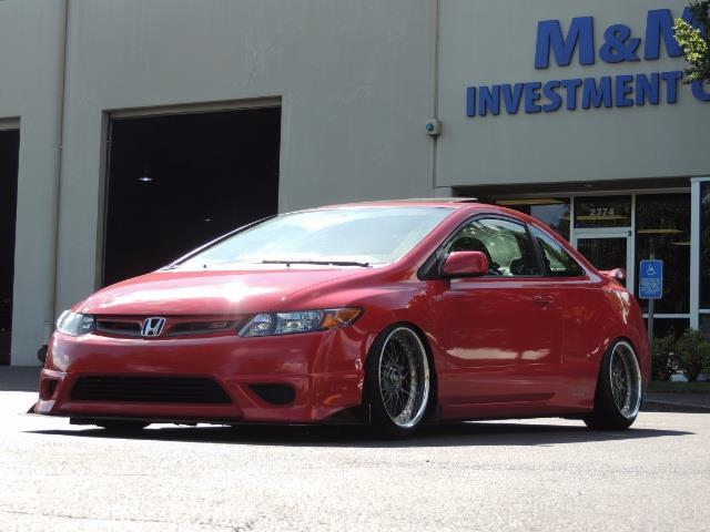 Superb 2008 Honda Civic Si Coupe 6 Speed Manual / WHEELS EXHAUST / LOWERED   Photo  1