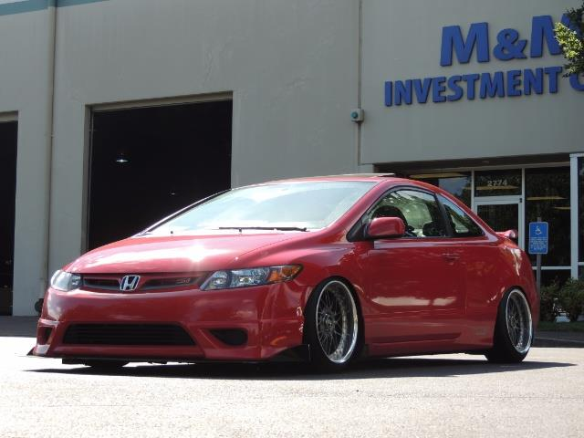 2008 Honda Civic Si Coupe 6 Speed Manual / WHEELS EXHAUST / LOWERED   Photo  19