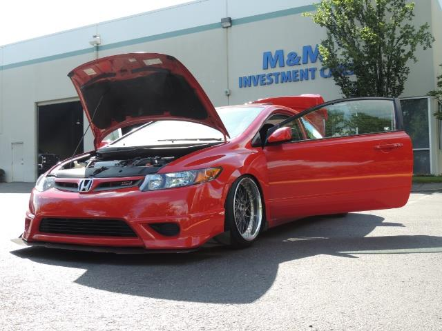 2008 Honda Civic Si Coupe 6 Speed Manual / WHEELS EXHAUST / LOWERED - Photo 9 - Portland, OR 97217