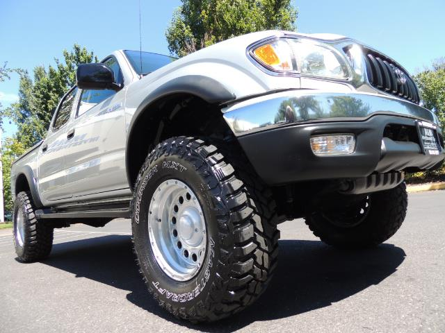 """2002 Toyota Tacoma V6 4dr Double Cab 4WD LIFTED 33 """" MUD DIF LOCKS - Photo 22 - Portland, OR 97217"""