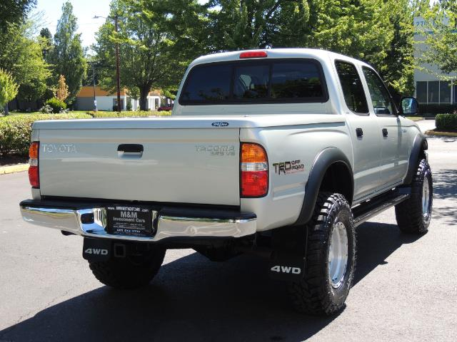 """2002 Toyota Tacoma V6 4dr Double Cab 4WD LIFTED 33 """" MUD DIF LOCKS - Photo 8 - Portland, OR 97217"""