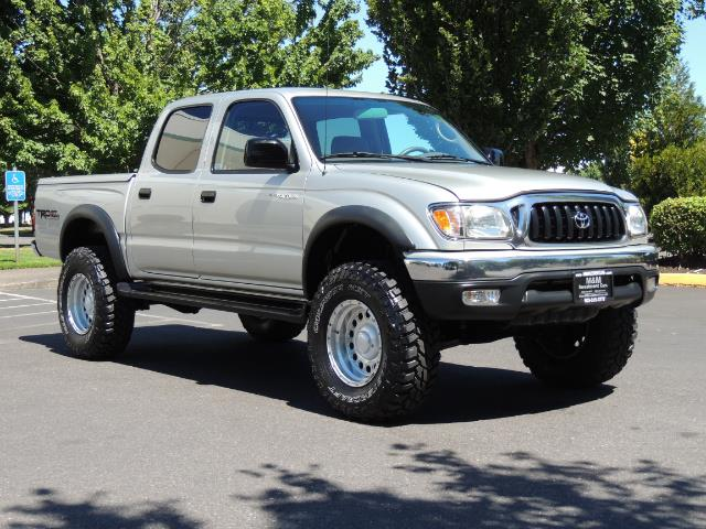"""2002 Toyota Tacoma V6 4dr Double Cab 4WD LIFTED 33 """" MUD DIF LOCKS - Photo 2 - Portland, OR 97217"""