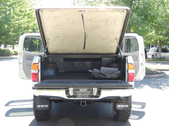 """2002 Toyota Tacoma V6 4dr Double Cab 4WD LIFTED 33 """" MUD DIF LOCKS - Photo 11 - Portland, OR 97217"""