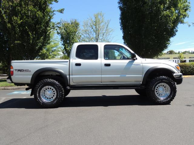 """2002 Toyota Tacoma V6 4dr Double Cab 4WD LIFTED 33 """" MUD DIF LOCKS - Photo 3 - Portland, OR 97217"""
