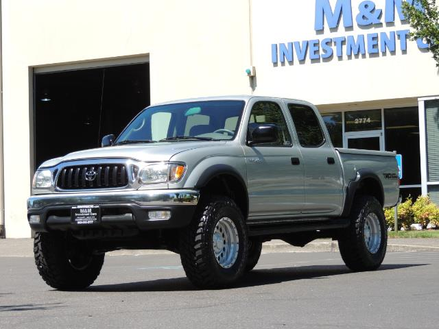 """2002 Toyota Tacoma V6 4dr Double Cab 4WD LIFTED 33 """" MUD DIF LOCKS - Photo 1 - Portland, OR 97217"""