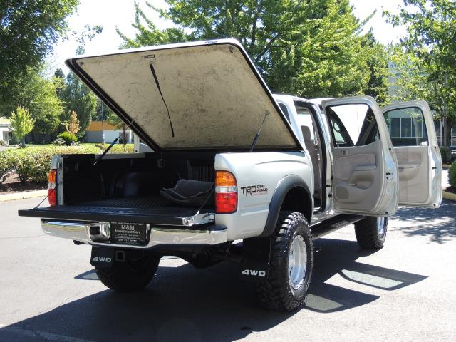 """2002 Toyota Tacoma V6 4dr Double Cab 4WD LIFTED 33 """" MUD DIF LOCKS - Photo 28 - Portland, OR 97217"""