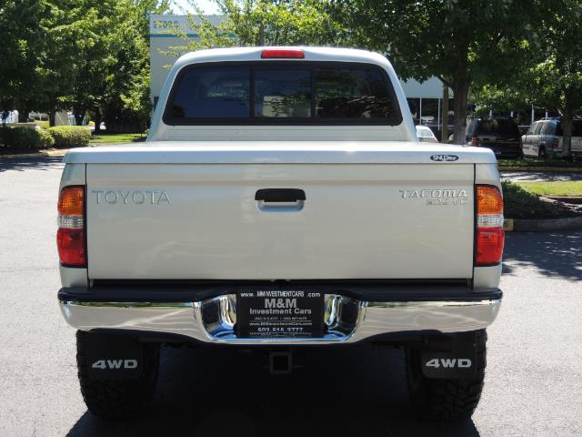 """2002 Toyota Tacoma V6 4dr Double Cab 4WD LIFTED 33 """" MUD DIF LOCKS - Photo 7 - Portland, OR 97217"""