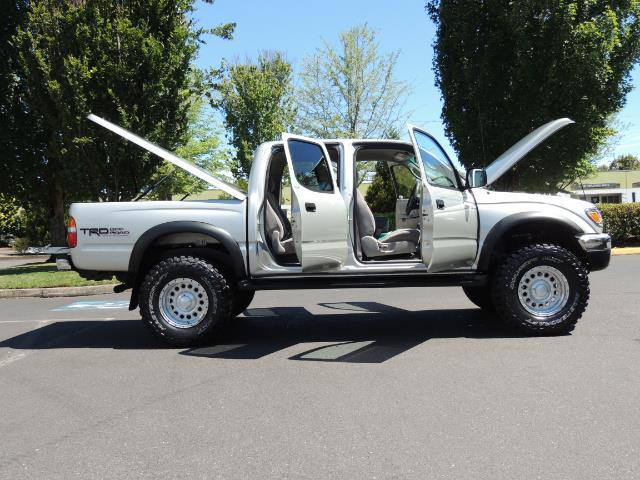 """2002 Toyota Tacoma V6 4dr Double Cab 4WD LIFTED 33 """" MUD DIF LOCKS - Photo 10 - Portland, OR 97217"""