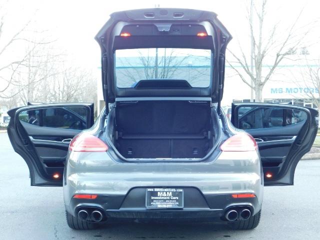 2014 Porsche Panamera S / Twin Turbo 6Cyl / Sport Chrono pkg / Excel Con - Photo 28 - Portland, OR 97217