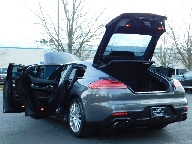 2014 Porsche Panamera S / Twin Turbo 6Cyl / Sport Chrono pkg / Excel Con - Photo 27 - Portland, OR 97217