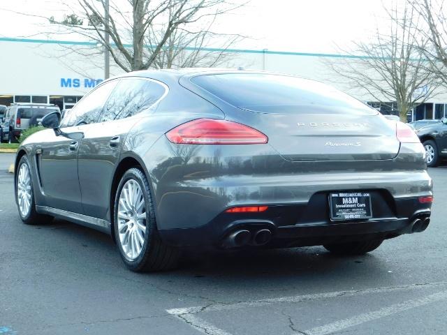 2014 Porsche Panamera S / Twin Turbo 6Cyl / Sport Chrono pkg / Excel Con - Photo 7 - Portland, OR 97217
