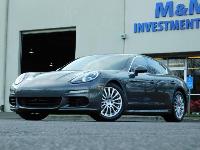 2014 Porsche Panamera S / Twin Turbo 6Cyl / Sport Chrono pkg / Excel Con - Photo 52 - Portland, OR 97217