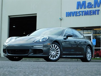 2014 Porsche Panamera S / Twin Turbo 6Cyl / Sport Chrono pkg / Excel Con Sedan