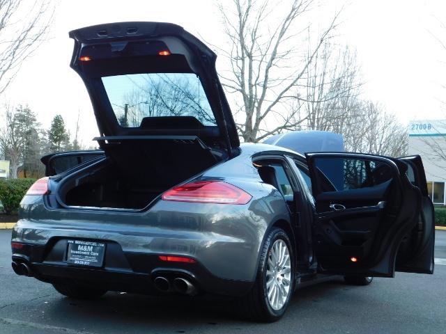 2014 Porsche Panamera S / Twin Turbo 6Cyl / Sport Chrono pkg / Excel Con - Photo 29 - Portland, OR 97217