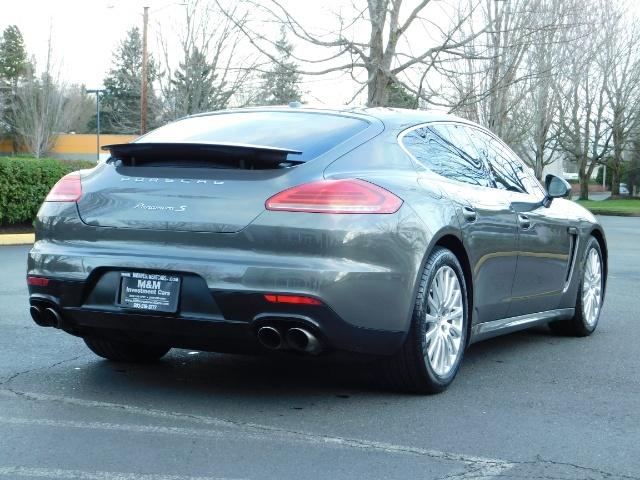 2014 Porsche Panamera S / Twin Turbo 6Cyl / Sport Chrono pkg / Excel Con - Photo 8 - Portland, OR 97217