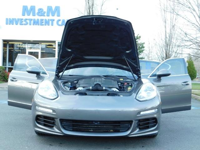2014 Porsche Panamera S / Twin Turbo 6Cyl / Sport Chrono pkg / Excel Con - Photo 32 - Portland, OR 97217