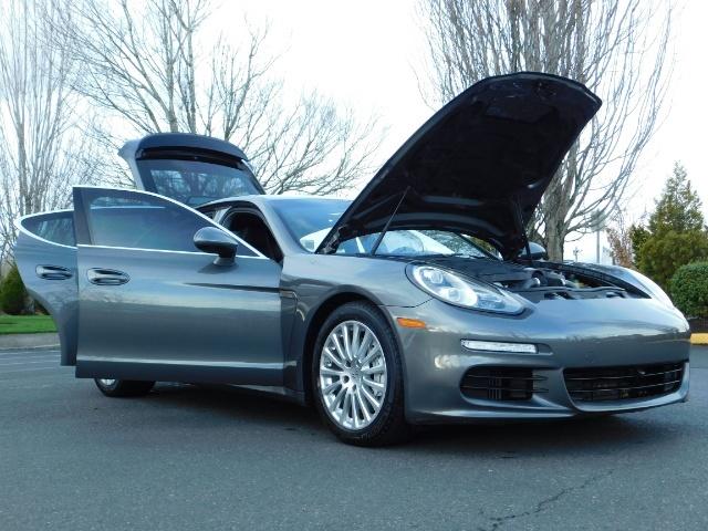 2014 Porsche Panamera S / Twin Turbo 6Cyl / Sport Chrono pkg / Excel Con - Photo 31 - Portland, OR 97217