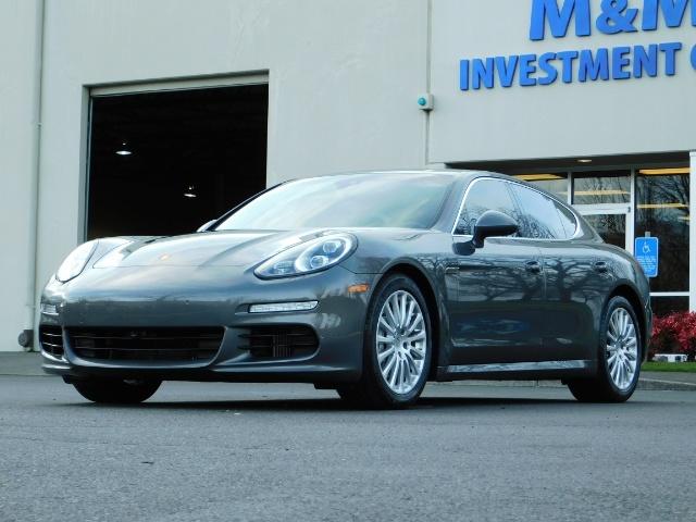 2014 Porsche Panamera S / Twin Turbo 6Cyl / Sport Chrono pkg / Excel Con - Photo 51 - Portland, OR 97217