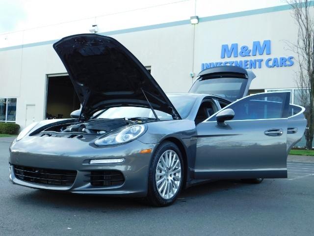 2014 Porsche Panamera S / Twin Turbo 6Cyl / Sport Chrono pkg / Excel Con - Photo 25 - Portland, OR 97217