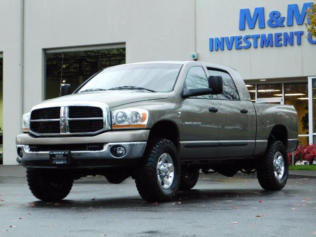 2006 Dodge Ram 2500 SLT Mega Cab / 4X4 / 5.9L Cummins DIESEL 1-OWNER - Photo 44 - Portland, OR 97217