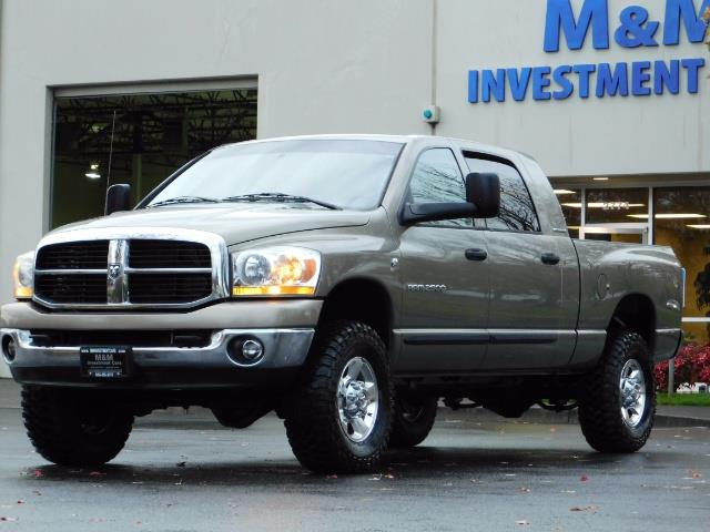 2006 Dodge Ram 2500 SLT Mega Cab / 4X4 / 5.9L Cummins DIESEL 1-OWNER - Photo 1 - Portland, OR 97217