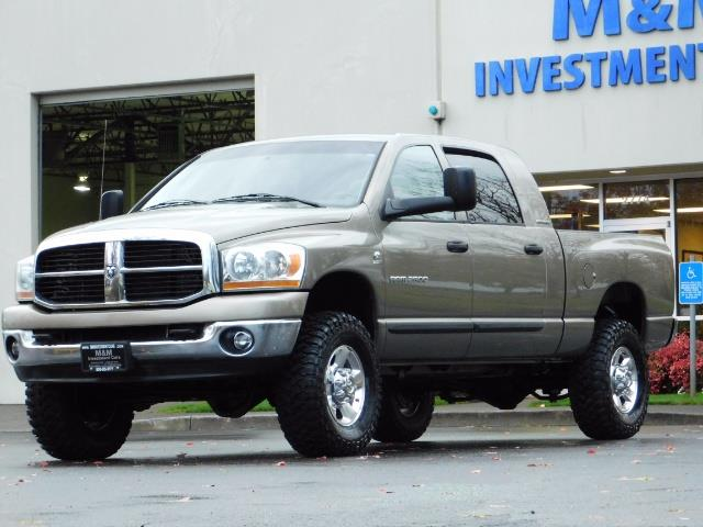 2006 Dodge Ram 2500 SLT Mega Cab / 4X4 / 5.9L Cummins DIESEL 1-OWNER - Photo 40 - Portland, OR 97217