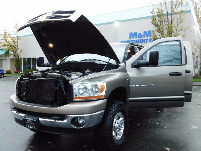 2006 Dodge Ram 2500 SLT Mega Cab / 4X4 / 5.9L Cummins DIESEL 1-OWNER - Photo 25 - Portland, OR 97217