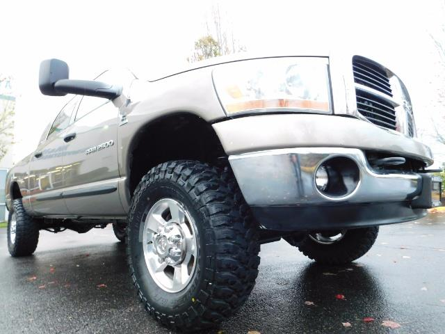 2006 Dodge Ram 2500 SLT Mega Cab / 4X4 / 5.9L Cummins DIESEL 1-OWNER - Photo 10 - Portland, OR 97217