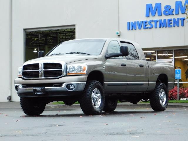 2006 Dodge Ram 2500 SLT Mega Cab / 4X4 / 5.9L Cummins DIESEL 1-OWNER - Photo 39 - Portland, OR 97217