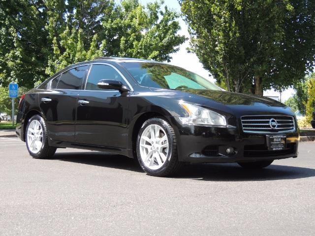 2010 Nissan Maxima 3.5 SV Heated+Cooled Leather / PANO ROOF / 1-OWNER - Photo 2 - Portland, OR 97217