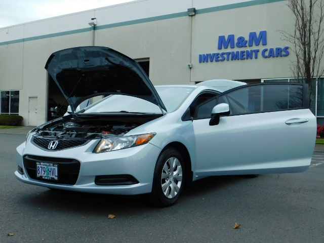 2012 Honda Civic LX Coupe 2Dr / Automatic / Excel Cond - Photo 25 - Portland, OR 97217