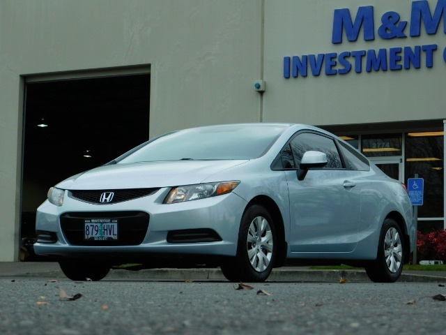 2012 Honda Civic LX Coupe 2Dr / Automatic / Excel Cond - Photo 1 - Portland, OR 97217