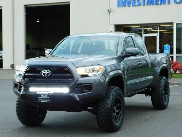 2017 Toyota Tacoma SR 4x4 / 5-SPEED MANUAL / LIFTED / 37 MILES ONLY - Photo 51 - Portland, OR 97217