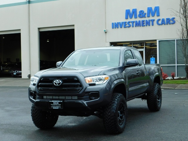 2017 Toyota Tacoma SR 4x4 / 5-SPEED MANUAL / LIFTED / 37 MILES ONLY - Photo 49 - Portland, OR 97217