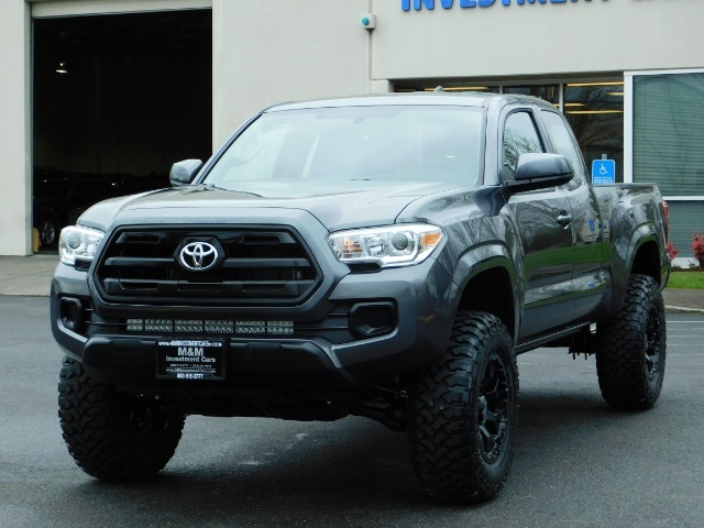 2017 Toyota Tacoma SR 4x4 / 5-SPEED MANUAL / LIFTED / 37 MILES ONLY - Photo 25 - Portland, OR 97217