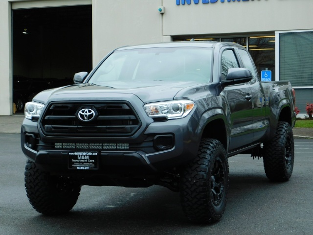 2017 Toyota Tacoma SR 4x4 / 5-SPEED MANUAL / LIFTED / 37 MILES ONLY - Photo 42 - Portland, OR 97217