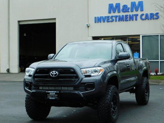 2017 Toyota Tacoma SR 4x4 / 5-SPEED MANUAL / LIFTED / 37 MILES ONLY - Photo 41 - Portland, OR 97217