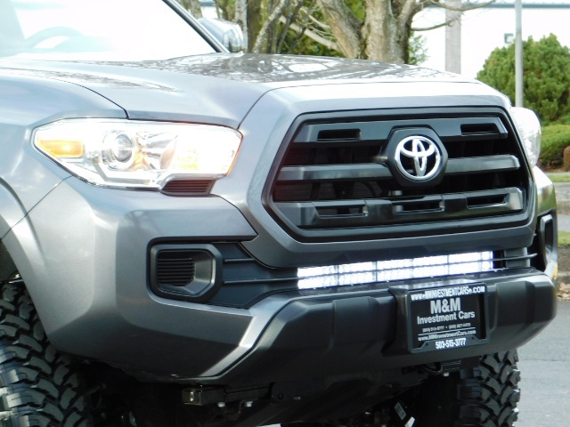 2017 Toyota Tacoma SR 4x4 / 5-SPEED MANUAL / LIFTED / 37 MILES ONLY - Photo 9 - Portland, OR 97217