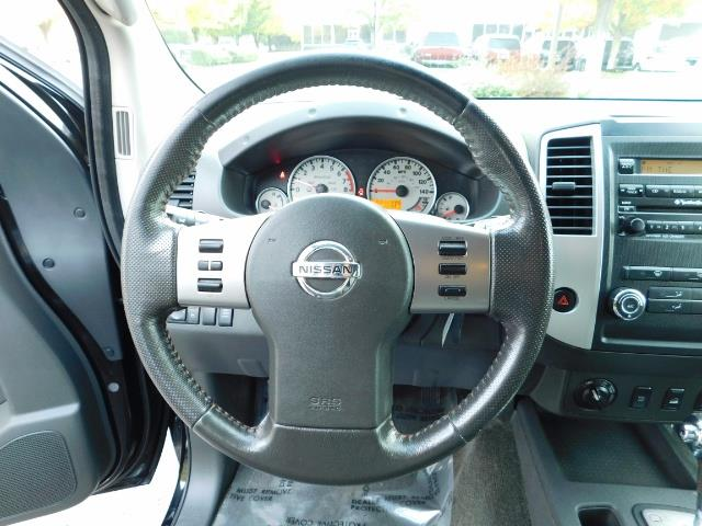 2011 Nissan Xterra PRO-4X / 4X4 / Leather / DIFF LOCKS / Excel Cond - Photo 17 - Portland, OR 97217