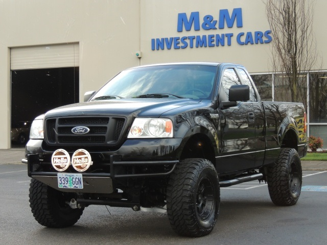 2005 ford f 150 stx 4dr 84k 4x4 lifted lifted tacoma. Black Bedroom Furniture Sets. Home Design Ideas