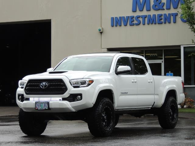 2016 Toyota Tacoma Lifted >> 2016 Toyota Tacoma Trd Sport 4x4 Navi Sunroof Loaded Lifted